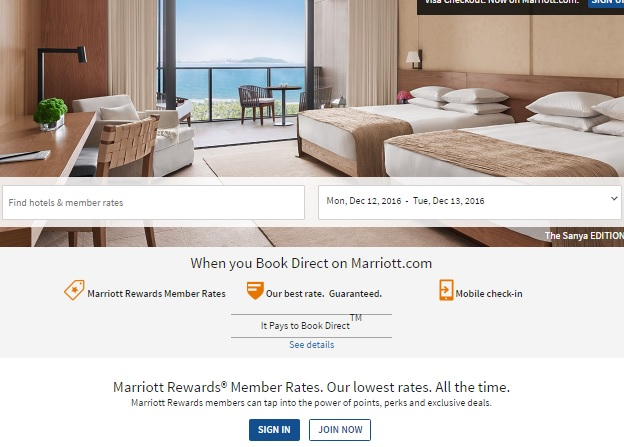 マリオットホテルは、冬の48時間フラッシュセール最大75%OFF