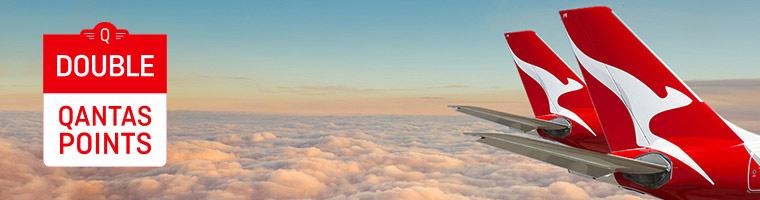 カンタス航空のクアンタスフリークエントフライヤーでrダブルポイントキャンペーン