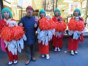 ハロウィンパレードに参加する