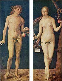 デューラー アダムとイブ(1507年)