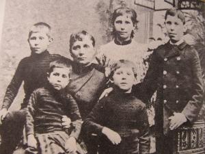 ゴーギャンの家族