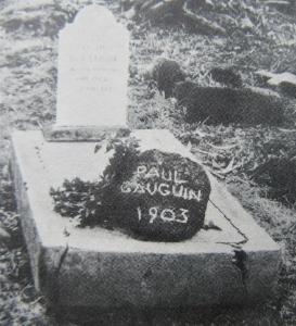 ゴーギャンの墓