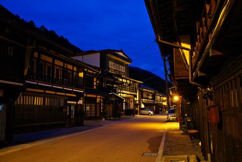 木曽平沢の夜景