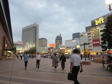 JR仙台駅前