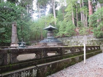 ・重要文化財 奥宮御宝塔(家康公 御墓所)