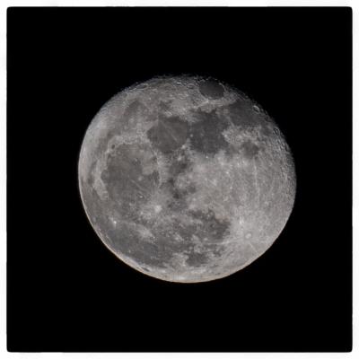 November 16th moon over Kochi