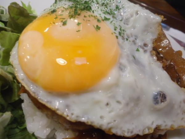11/28 クリームキッチン・ロコモコ丼