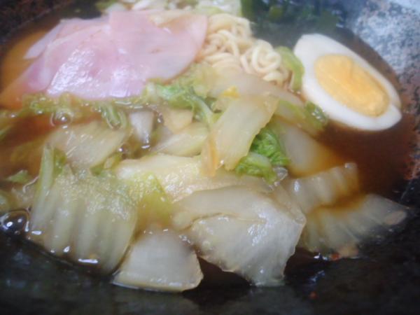 11/30 家食・白菜ラーメン