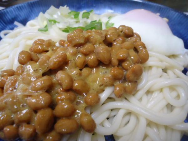 1/6 家食・納豆温玉うどん&甘酒