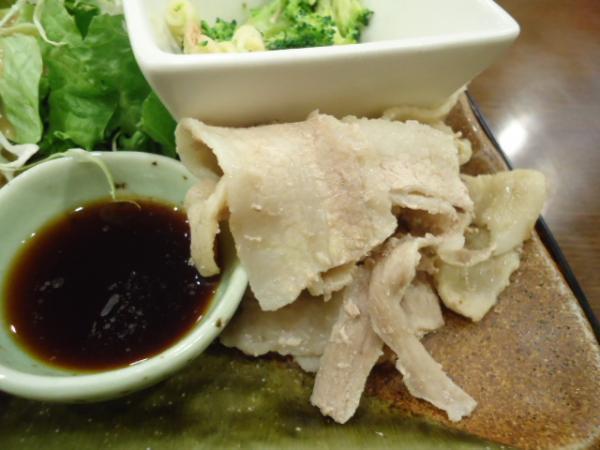 1/31 マイサニー・豚シャブ魚フライ定食