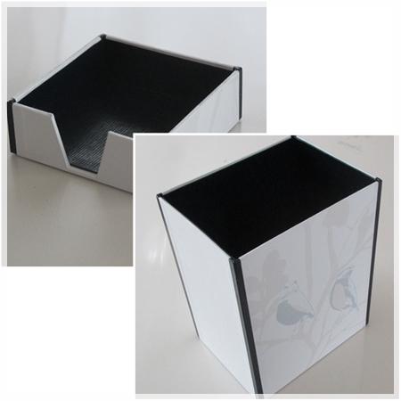 ダストボックス & メモ帳ボックス