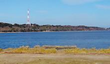佐鳴湖南岸から西岸北岸1月