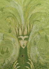 岡田まりゑ銅版画