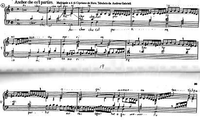 別れの時はチェンバロ楽譜