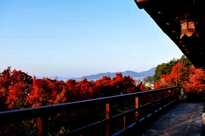 翠風閣からの眺め