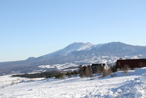 バラギ高原よりの浅間山です