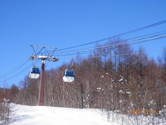 パルコール嬬恋スキー ゴンドラ