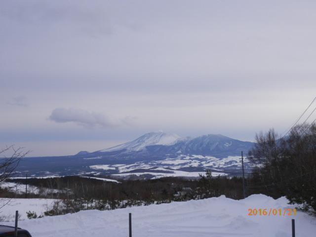 宿よりの浅間山