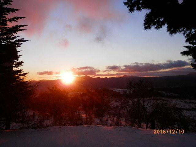 バラギ高原の日の出