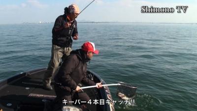 前田カップ特別戦 問答無用の陣 Part2 カネカ沖でグッドサイズキャッチ(YouTubeムービー)