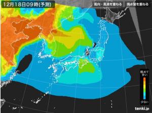tenki.jp PM2.5予測