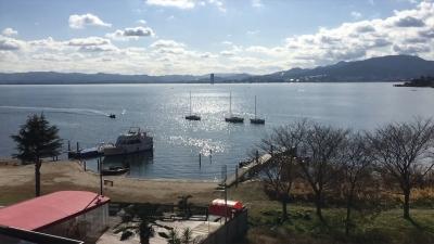 穏やかなクリスマスの琵琶湖(YouTubムービー)