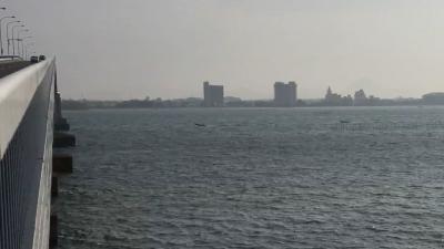 アホ風で大荒れの南湖(YouTubeムービー)