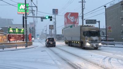 大雪の西近江路(YouTubeムービー)