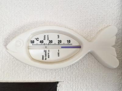 室内気温18度(2月13日16時頃)
