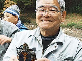 竹山池で生きもの捕獲大作戦