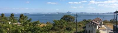 平日の琵琶湖南湖下物〜志那沖は空いてます(11月16日11時30分頃)