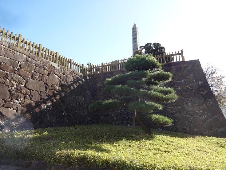 甲府のお城跡