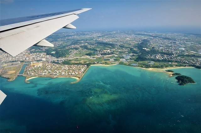 2016沖縄旅行 飛行機(10)