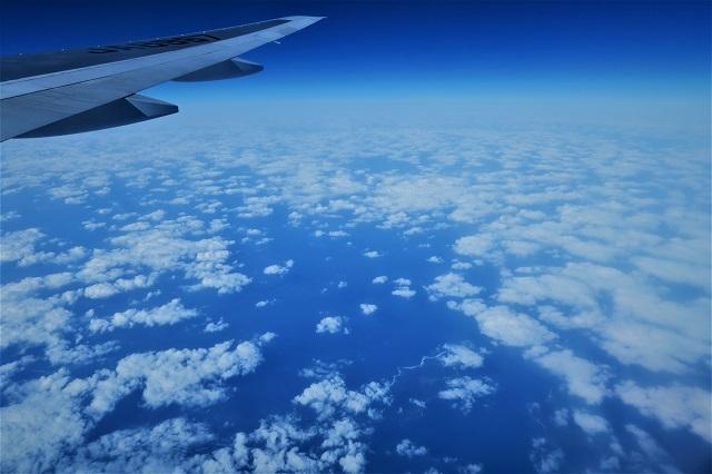 2016沖縄旅行 飛行機(6)