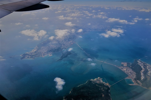 2016沖縄旅行 飛行機(9)