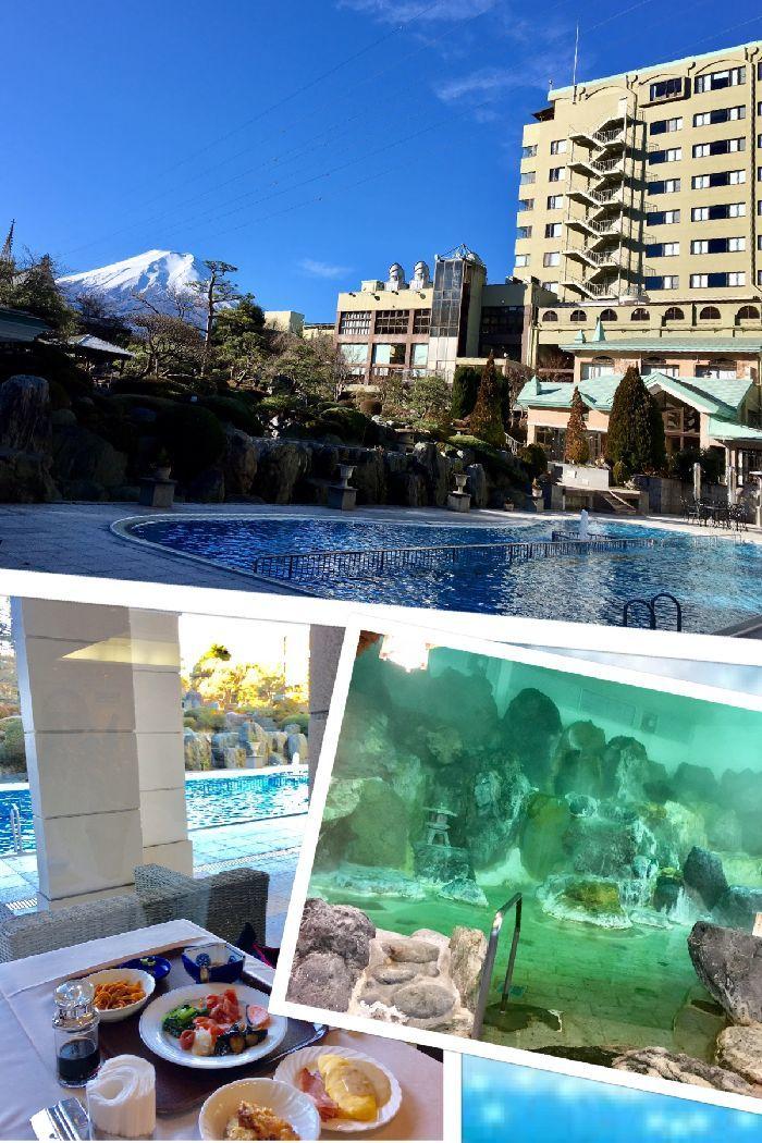 246-式場ホテル庭園からの富士山-温泉