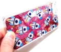 Pink liquid rocket glitter iphone 6 6s case (1)