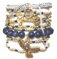 w71 coco bracelet set navy サード