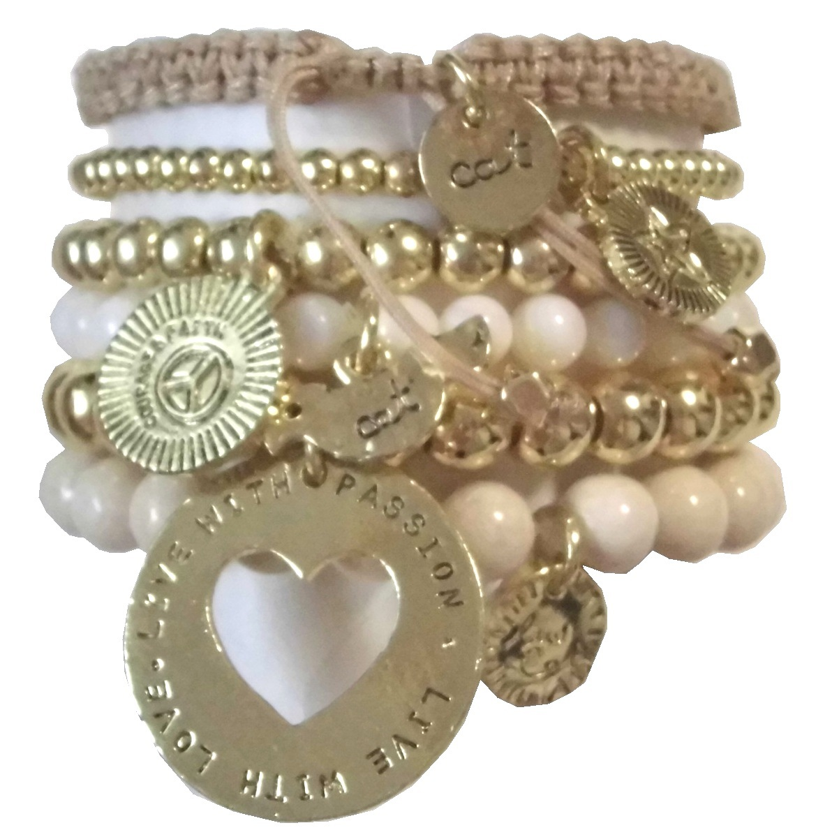 W700 Natural Stone Bracelet set (2)