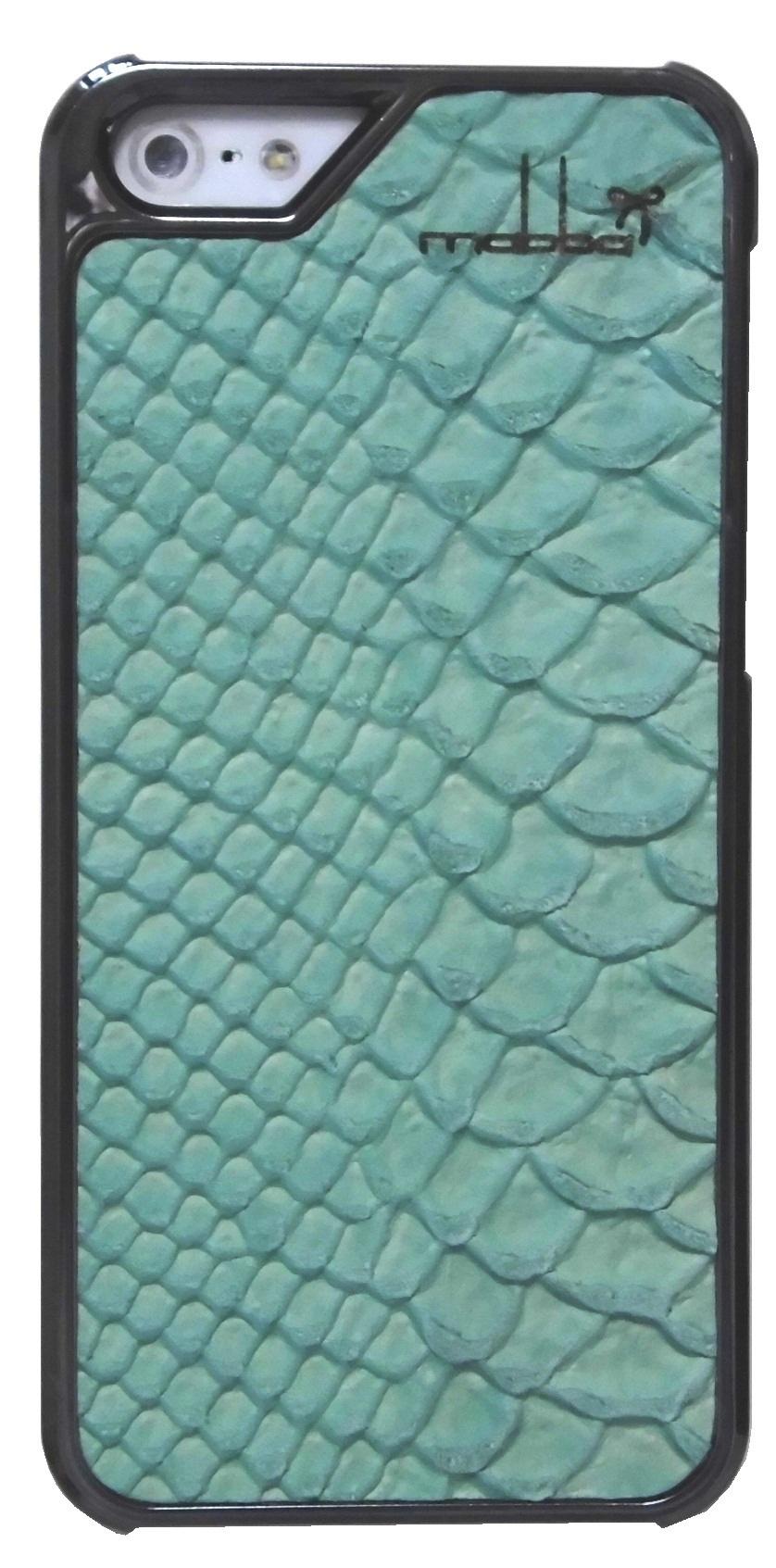 iPhone 5 5s Case Leder Mrs Laguna chrome (2)