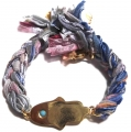 b812 vintage ribbon braided bracelet multi rainbow1 (3)