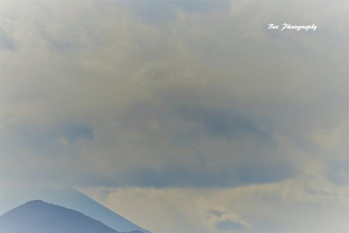 bee-富士山20170127