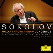 Grigory Sokolov Mozart, Rachmaninov - Concertos【最安値CD_DVD】グリゴリー・ソコロフ モーツァルト ラフマニノフ ピアノ協奏曲 ライヴ