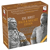 Idil Biret Bach Mozart Edition【最安値12CD_DVD】イディル・ビレットJ.S.バッハモーツァルト作品集