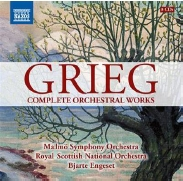 Amazon激安CD ヤフオク情報 Bjarte Engeset Grieg Complete Orchestral Works【最安値8CD】ビャルテ・エンゲセト グリーグ管弦楽作品全集