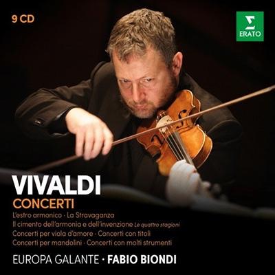 Amazon激安CDヤフオク Fabio Biondi Vivaldi Concerti【最安値9CD】ファビオ・ビオンディ ヴィヴァルディ・コンサート