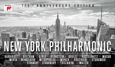 New York Philharmonic(NYP)175th Anniversary【最安値65CD】ニューヨーク・フィルハーモニック創立175年アニヴァーサリー・エディション
