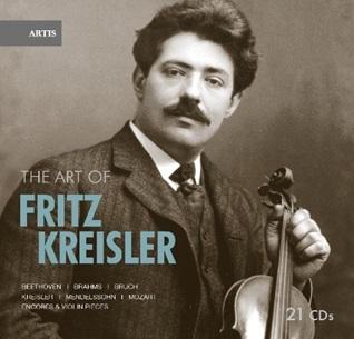 Amazon激安CDヤフオク情報 The Art of Fritz Kreisler【最安値21CD】アート・オブ・フリッツ・クライスラーの芸術