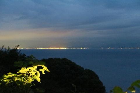 15戸田へ清水方面夜景