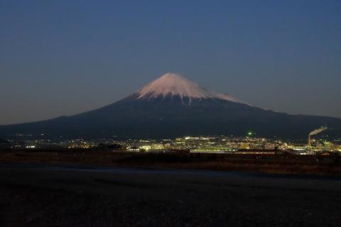 56富士川から富士山